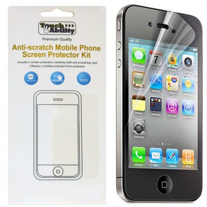 iPhone 4/4S Anti-scratch Screen Protector Kit